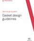 Technical bulletin | Gasket Design Guidelines | EN
