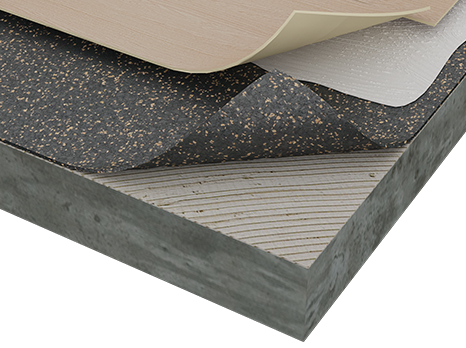 Acousticork Flooring Gt Materials Amp Applications Gt Amorim