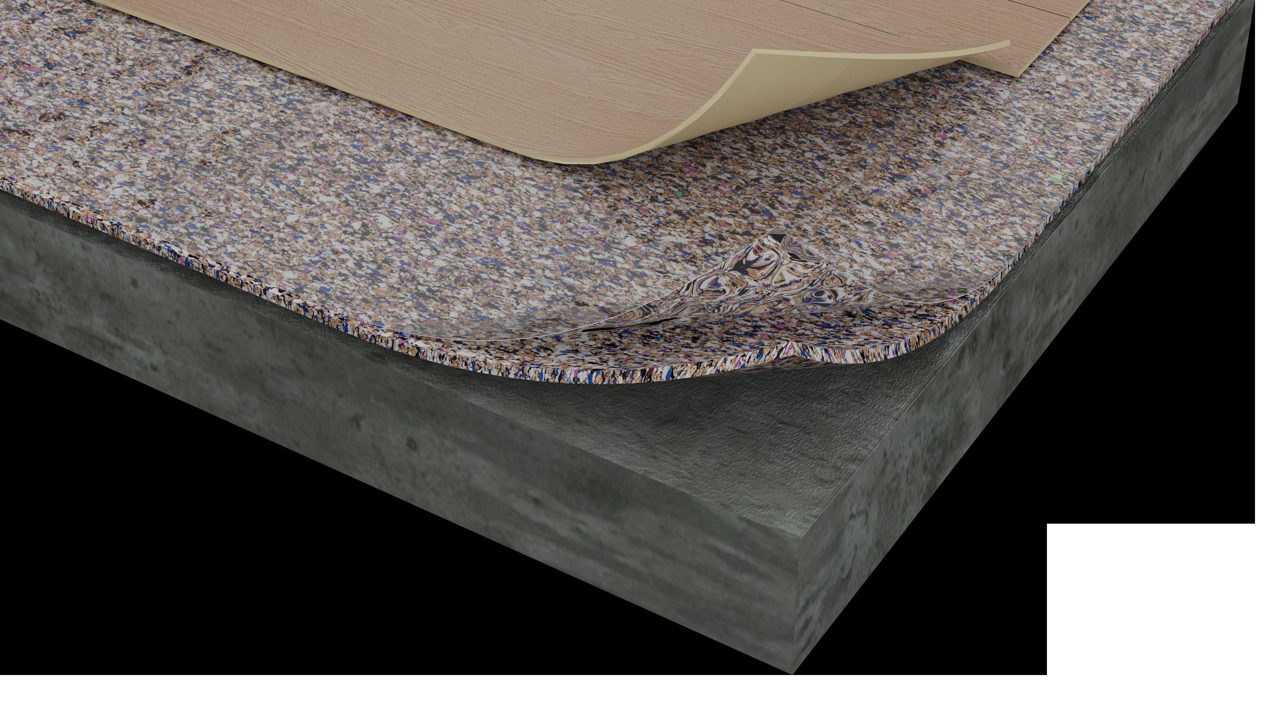 Acousticork Flooring Materials Applications Amorim Cork